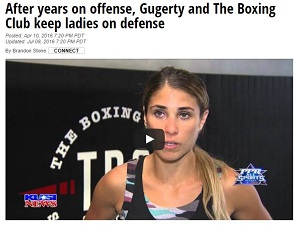 KUSI: After years on offense, Gugerty and The Boxing Club keep ladies on defense