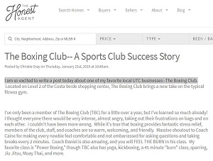 The Honest Agent: The Boxing Club - A Sports Club Success Story